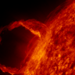 Solar Prominence Eruption [amazing space video]
