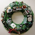 The perfect wreath for computer hardware geeks
