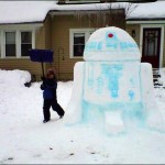 R2-D2 Snowman [pic]