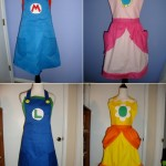 Super Mario Bros. themed cooking aprons [pic]
