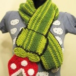 Super Mario Bros Piranha Flower Scarf [pic]
