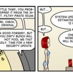 Sony, the evil PS3 police [cartoon]