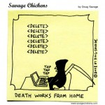 Even the Grim Reaper telecommutes [cartoon]