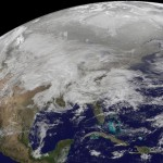 North American Snowpocalypse as seen from space [NASA PIC]