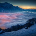 Amazing picture of the moon and Venus over Switzerland [pic]