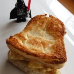 Darth Vader egg salad sandwich [pic]