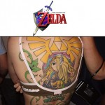 Amazing Legend of Zelda full back tattoo [pic]