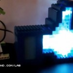 Awesome LEGO Facebook Like button that lights up