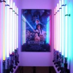 Star Wars lightsaber display room [pic]