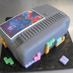 NES Tetris Cartridge Cake [pic]