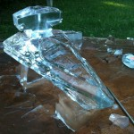 Star Wars Imperial Star Destroyer Ice Luge [pics]