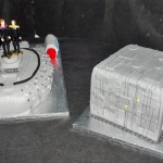Star Trek Voyager and Borg Cube Wedding Cakes [pics]