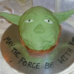 Yoda wedding cake:  May the force be with you! [pics]