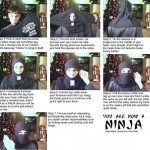 7 Easy steps to becoming a Ninja [pic]