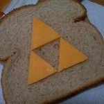 A Triforce Cheese Sandwich [pic]