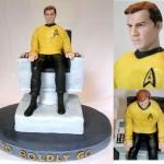 Captain Kirk cake [pic]