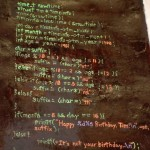 Code Birthday Cake [pic]