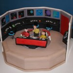 This Star Trek TOS Bridge cake is amazing [pic]
