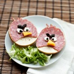 Angry Birds sandwiches [pic]