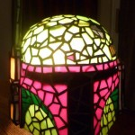 Boba Fett helmet + Tiffany lamp = epic! [pic]