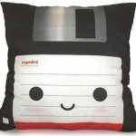 Floppy disk throw pillow [pic]