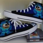 Mega Man Knit Chuck Taylor Sneakers [pic]