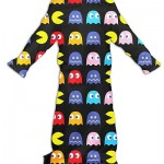 Pac-Man Snuggie fleece blanket with sleeves!  [pic]