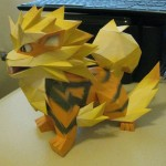 Amazing Papercraft Arcanine Pokemon [pic]