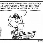 Absurd math problems [comic]