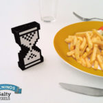 Pixelated Hourglass Salt Shaker [pic]