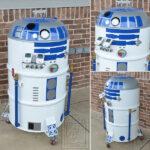 R2-D2 BBQ Smoker [pic]