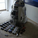 Mind blowing R2-D2 video game console case mod [pics]