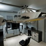 Amazing Star Wars Y-Wing Bunk Bed [pics]