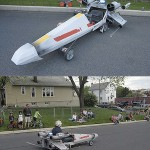 Amazing X-Wing Soapbox Derby Car [pic]