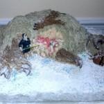 Dead TaunTaun Birthday Cake [Pic]
