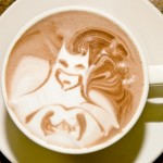 Batman Latte Art [pic]