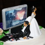 Gaming Addict Wedding Cake [pic]