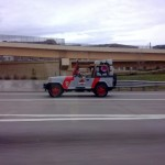 Jurassic Park Jeep Transporting Portal Companion Cube [pic]