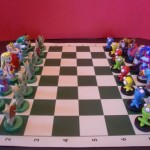 Hand-Crafted Legend of Zelda Chess Set [pics]