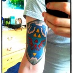 Legend of Zelda Hyrule Shield Tattoo [pic]