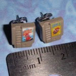 NES Game Cartridge Earrings [pic]