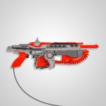 Gears of War NES Zapper Controller [pic]