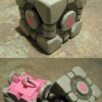 Portal Companion Cube Engagement Ring Box [pic + video]