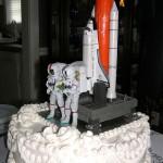 Space Shuttle Atlantis Wedding Cake [pic]