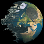Star Wars Death Star Camouflaged as Earth [pic]