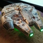 Star Wars Millennium Falcon Wedding Cake [pic]