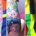Awesome Super Mario Bros Tattoo Sleeve [pic]