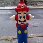 Super Mario Fire Hydrant [pic]