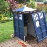 Doctor Who TARDIS Telescope Shed [pic]