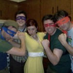 Teenage Mutant Ninja Turtle Viewing Party [pics]